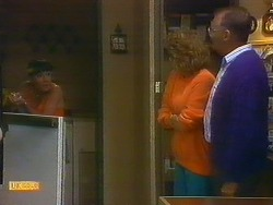 Kerry Bishop, Madge Bishop, Harold Bishop in Neighbours Episode 0889