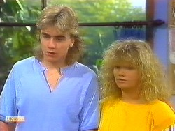 Nick Page, Sharon Davies in Neighbours Episode 0890