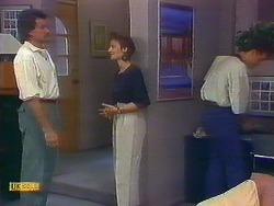 Mark Granger, Gail Robinson, Paul Robinson in Neighbours Episode 0890