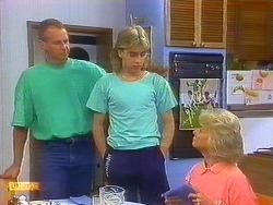 Jim Robinson, Nick Page, Helen Daniels in Neighbours Episode 0890