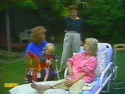 Madge Bishop, Sky Mangel, Gail Robinson, Helen Daniels in Neighbours Episode 0890