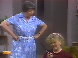 Edith Chubb, Sharon Davies in Neighbours Episode 0893