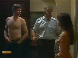 Joe Mangel, Harold Bishop, Kerry Bishop in Neighbours Episode 0896