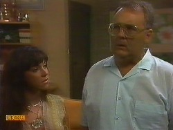 Kerry Bishop, Harold Bishop in Neighbours Episode 0896