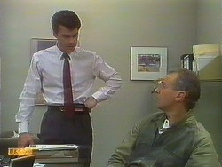 Paul Robinson, Jim Robinson in Neighbours Episode 0896