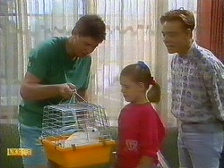 Joe Mangel, Rosco, Katie Landers, Scott Robinson in Neighbours Episode 0896