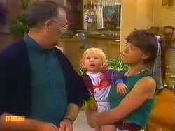 Harold Bishop, Sky Mangel, Kerry Bishop in Neighbours Episode 0897
