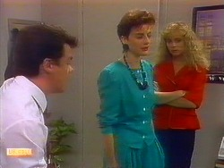 Paul Robinson, Gail Robinson, Jane Harris in Neighbours Episode 0897