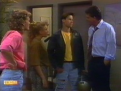 Henry Ramsay, Bronwyn Davies, Mike Young, Des Clarke in Neighbours Episode 0898