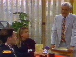 Mike Young, Bronwyn Davies, Kenneth Muir in Neighbours Episode 0898