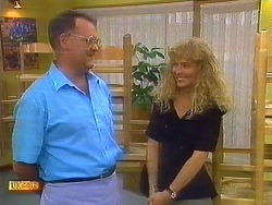 Harold Bishop, Jane Harris in Neighbours Episode 0899