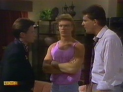Mike Young, Henry Ramsay, Des Clarke in Neighbours Episode 0900