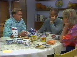 Scott Robinson, Jim Robinson, Helen Daniels in Neighbours Episode 0900