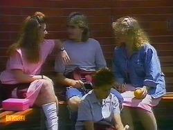 Vanessa Bailey, Nick Page, Todd Landers, Sharon Davies in Neighbours Episode 0900