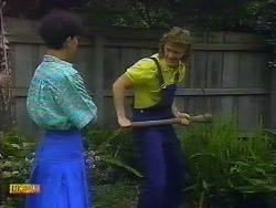 Hilary Robinson, Henry Ramsay in Neighbours Episode 0900