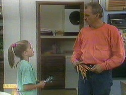 Katie Landers, Jim Robinson in Neighbours Episode 0901