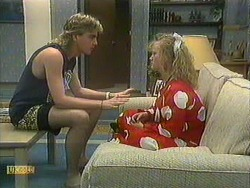 Nick Page, Sharon Davies in Neighbours Episode 0902