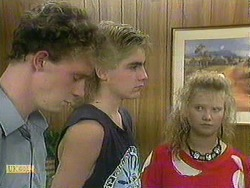 Bruce Zadro, Nick Page, Sharon Davies in Neighbours Episode 0902