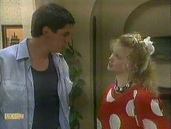 Joe Mangel, Sharon Davies in Neighbours Episode 0903