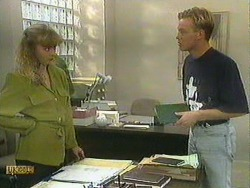 Jane Harris, Scott Robinson in Neighbours Episode 0903