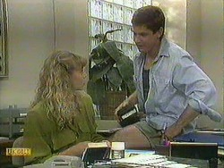 Jane Harris, Joe Mangel in Neighbours Episode 0904
