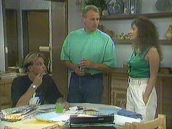 Scott Robinson, Jim Robinson, Madeline Price in Neighbours Episode 0904