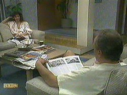 Madeline Price, Jim Robinson in Neighbours Episode 0905