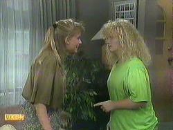 Bronwyn Davies, Sharon Davies in Neighbours Episode 0906