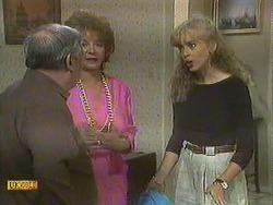 Rob Lewis, Gloria Lewis, Jane Harris in Neighbours Episode 0906