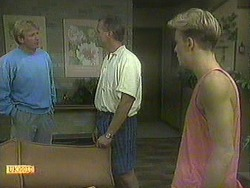 Eric Conrad, Jim Robinson, Scott Robinson in Neighbours Episode 0907