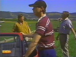 Glen Matheson, Joe Mangel, Harold Bishop in Neighbours Episode 0909