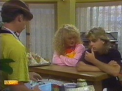Mike Young, Sharon Davies, Nick Page in Neighbours Episode 0910
