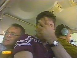 Harold Bishop, Joe Mangel, Glen Matheson in Neighbours Episode 0910
