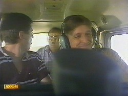 Joe Mangel, Harold Bishop, Glen Matheson in Neighbours Episode 0910