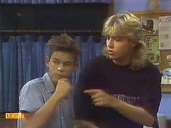 Todd Landers, Nick Page in Neighbours Episode 0910