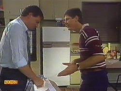 Des Clarke, Joe Mangel in Neighbours Episode 0910