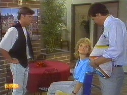 Mike Young, Jenny Owens, Des Clarke in Neighbours Episode 0910