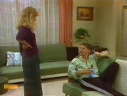 Jane Harris, Joe Mangel in Neighbours Episode 0911