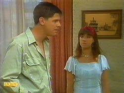 Joe Mangel, Kerry Bishop in Neighbours Episode 0911