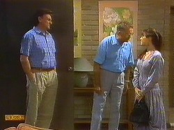 Glen Matheson, Harold Bishop, Kerry Bishop in Neighbours Episode 0912