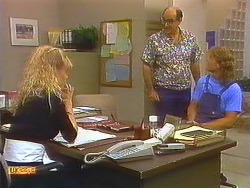 Jane Harris, Theo Skouros, Henry Ramsay in Neighbours Episode 0913
