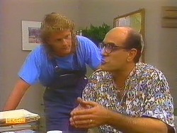 Henry Ramsay, Theo Skouros in Neighbours Episode 0913
