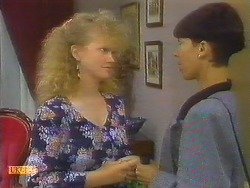 Sharon Davies, Hilary Robinson in Neighbours Episode 0914
