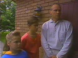 Katie Landers, Todd Landers, Jim Robinson in Neighbours Episode 0915