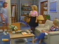 Nick Page, Sharon Davies, Helen Daniels in Neighbours Episode 0915