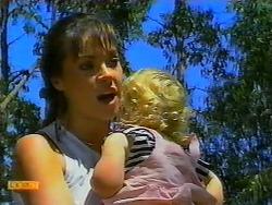 Kerry Bishop, Sky Mangel in Neighbours Episode 0917