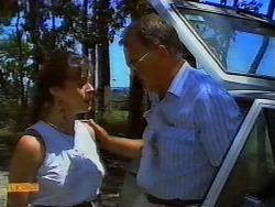 Kerry Bishop, Harold Bishop in Neighbours Episode 0917