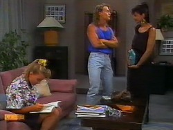 Bronwyn Davies, Henry Ramsay, Poppy Skouros in Neighbours Episode 0918