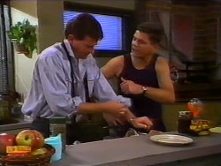 Des Clarke, Joe Mangel in Neighbours Episode 0918