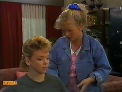 Jenny Owens, Sharon Davies in Neighbours Episode 0918